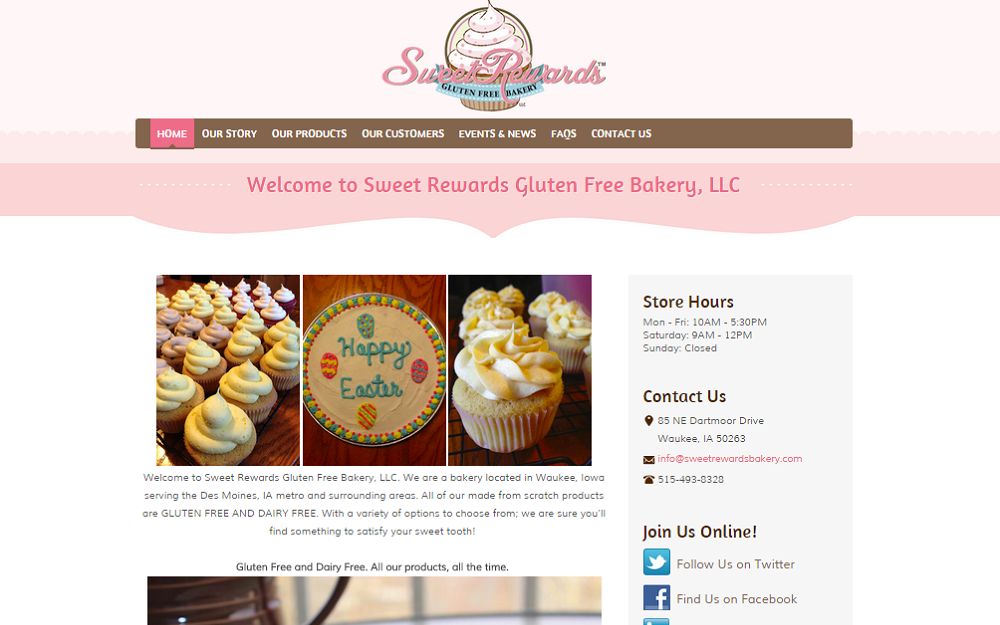 Sweet Rewards Bakery, LLC